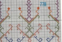Traditional cross stitch