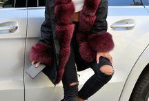 burgundy parka WWW.furs-outlet.com