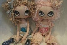 текстильные куклы и игрушки