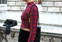 2013 Group 5 / Street Style team -  Mariella Dearlove  Holly Doherty Anna Efah  Nabila Farid-Juma Rosie-Anne Footitt  @ London Fashion Weekend, Fashion Week, Somerset House