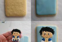 dekorowane ciasteczka