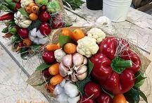 aranžování zeleniny