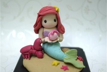 3. Little Mermaid cakes