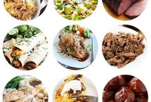 Slow Cooker / Slow cooker recipes from appetizers, meals, to desserts!