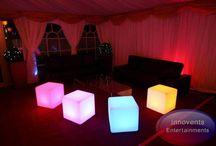 Led furniture / Innovents stunning led furniture ideas