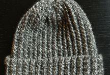 Crocheted hat for girls