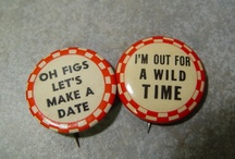 Pinback Buttons - Vintage Humor / by Zippy Pins