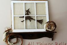 Holiday--Halloween / Halloween crafts and decor ideas / by Kara Cook (Creations by Kara)