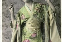 japonisme dress / Ideas for my upcoming dress.