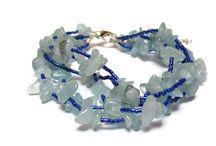 Semiprecious stone bracelets