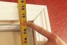 μέτρα για ύψος και πλάτος barn doors
