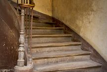 Staircases / Different staircases inside or outside old houses