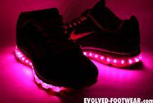 Womens Light UP Custom Shoes / Evolved Footwear light up customizations in womens shoes. Only available at: Evolved-Footwear.com ladies!