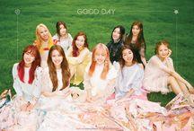 Good Day (굿데이) / Good Day (굿데이) - Viva, Bomin, Chaesol, Lucky, Nayoon, Jiwon, Heejin, Genie, Haeun, Cherry