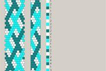bransoletki z koralików / zbiorem wzorów bransoletek z koralików