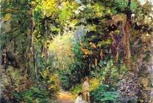 Pissarro / Storia dell'Arte Pittura  19° sec. Camille Pissarro  1830-1903