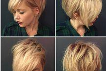 kısa saç modern