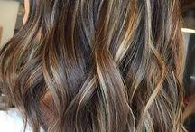 hair highlights for dark