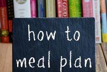 Maaltijdplanning menuplanning