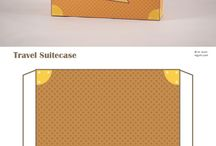 Suitcases template