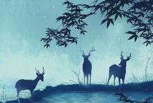 Духи леса / Forest, mystic, nature.