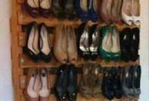 schoenen opbergen