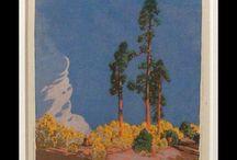 Cobre Gustave Baumann Inspired Prints and Artwork / Gustave Baumann Inspired Prints and Artwork by Cobre