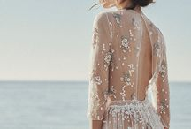 Wedding boho dress