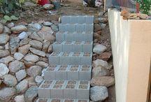 aus beton klötze bauen