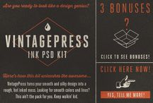 Retro Designer Resources / Retro Designer Resources #graphicdesign #design #retro #photoshop #psd