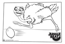 Jungle Beat Colouring Pages / Free Colouring Pages Ready to Print from the Jungle Beat Website   Get all Your Favourite Jungle Beat Characters!