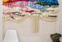 Weaving in interior