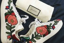 embroided shoes