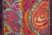 Bead embroidery Thom Atkins