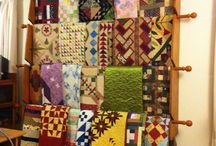 Creating This Quilt Display / Display possibilities for quilts etc for blog www.creatingthis.com