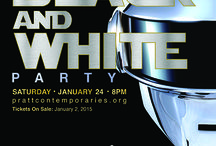 2015 Black and White Party / It's a futuristic theme for the 2015 Black and White Party on  Sat, January 24. Share fabulous ideas for the party. From clothes to cocktails, decorations, etc