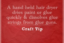 Crafts - Tips