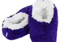 Snoozies / Cozy little foot coverings that are comfy, warm, soft and completely adorable in a range of fun designs are a cross between a sock and a slipper.  http://www.a-choice-of-gifts.co.uk/giftshop/cat_708508-Snoozies.html