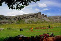 Castillos de Pincheira / La historia de los Hermanos Pincheira vive y late en la formación natural que lleva su apellido.  Nosotros te invitamos a conocer este lugar y su historia.