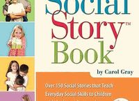 Social Stories / Use of social stories may be an effective means to assist those students who have difficulty with behaviors related to social skills, sensory regulation, emotional regulation and general behavior management.  They are used with assist students with ASD, cognitive delay and generally students who require intensive rehearsal interventions.  / by Living Sky School Division