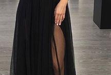 Vestidos longos pretos