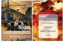 Noches gastrotemáticas en La Pergola / Noches gastrotemáticas verano 2015