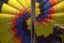 Inside the Hot Air Balloon / A glimpse inside the hot air balloon. Up close and personal