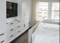 tv built-in closets
