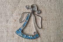 drôt a koráliky / šperky a dekorácie wire beads