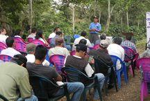 Proyectos CLAC / Visita a la organización El Jabalí, que ha implementado un proyecto de cultivo de café de variedades ancestrales, para combatir el cambio climático