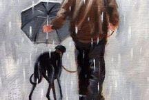 Greyhound art
