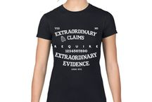 Skeptical t-shirts / Awesome T-Shirts for Geeks, sceptical and critical thinkers