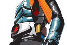 Graphics Masked Rider