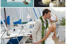 Yacht wedding inspiration